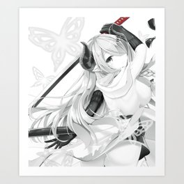 Granblue Fantasy - Narumeia Art Print