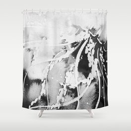 Jelly Study #3 (Version 3) Shower Curtain