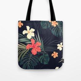 Dark tropical Tote Bag