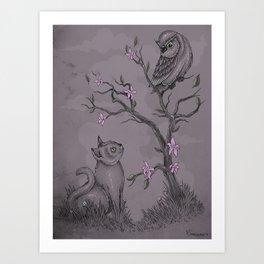 Be near me Art Print