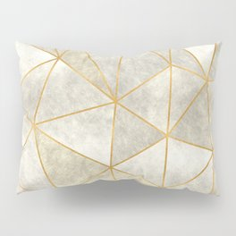 Geometric Mother of Pearl Pillow Sham