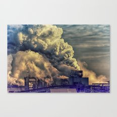 Industry Culture Canvas Print