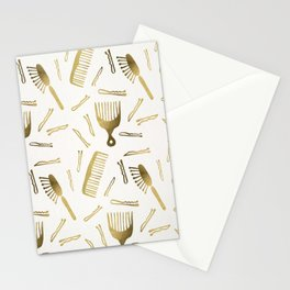 Good Hair Day – Gold Palette Stationery Cards