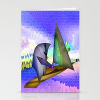 sailing Stationery Cards featuring Sailing by Digital-Art