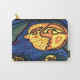 Lumpy Peach Faces Carry-All Pouch