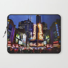 'Times Square NYC ~ BRIGHT LIGHTS' Laptop Sleeve