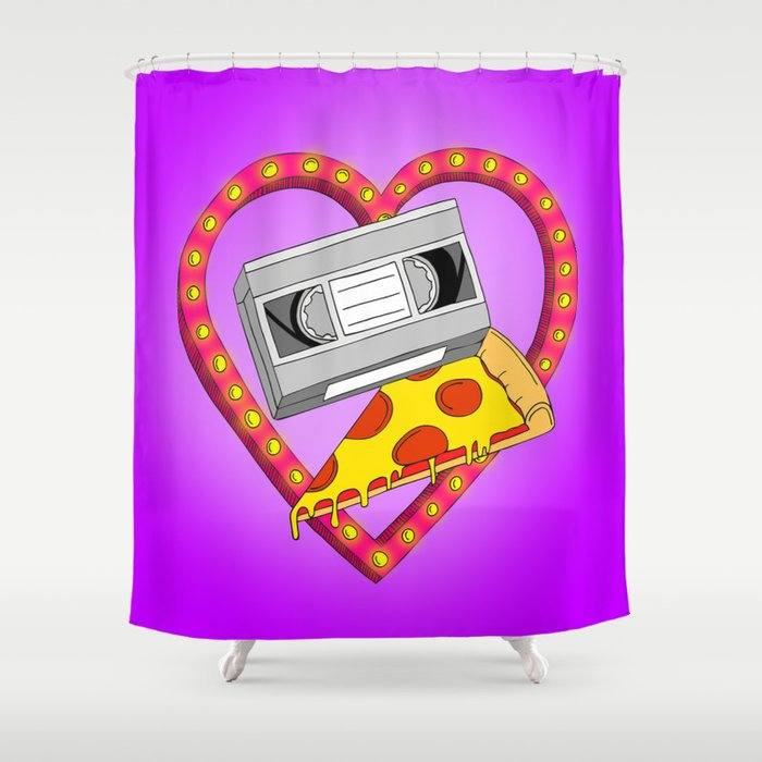 Date Night Shower Curtain