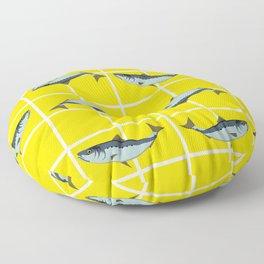 Ice Cream Sardines #2 Floor Pillow