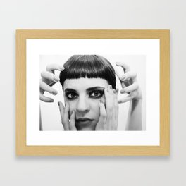 Mirror Mirror Framed Art Print