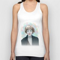 90s Tank Tops featuring 90s drew by lanabeebear
