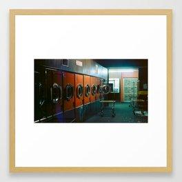Laundromat Part I Framed Art Print