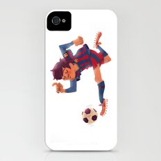 Lionel Messi, Barcelona Jersey iPhone (4, 4s) Slim Case