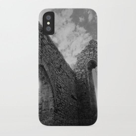 Corcomeroe Abbey Arch iPhone Case