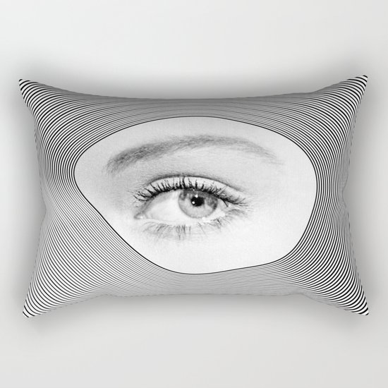 Is there anybody out there Rectangular Pillow