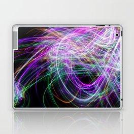 Abstract multi colour light effect Laptop & iPad Skin