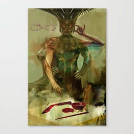 Tarot: The Magician Canvas Print