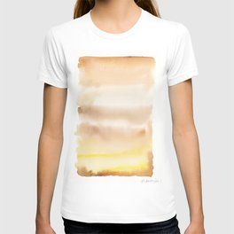 180815 Watercolor Rothko Inspired 2| Colorful Abstract | Modern Watercolor Art T-shirt