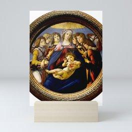 """Sandro Botticelli """"Madonna of the Pomegranate (Madonna della Melagrana)"""" Mini Art Print"""