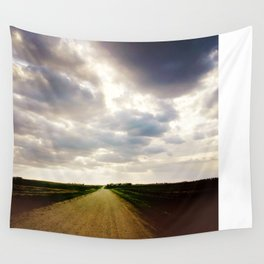 Gravel Road Wall Tapestry