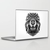 zodiac Laptop & iPad Skins featuring Signs of the Zodiac - Leo by Andreas Preis
