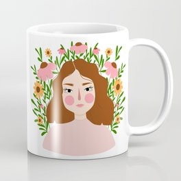 Flourishing Girl Coffee Mug