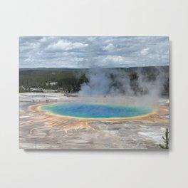 Grand Prismatic Springs,Yellowstone Metal Print