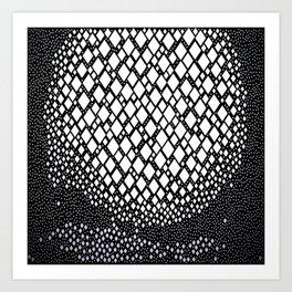 Diamonds and Dots Art Print