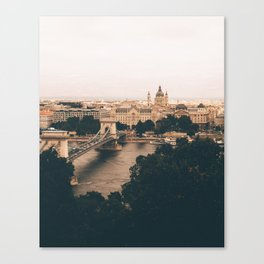 The moods of Budapest Canvas Print