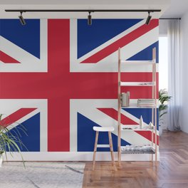 Union Jack, Authentic color and scale 1:2 Wall Mural