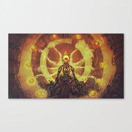 Zen tetraktis Canvas Print