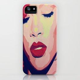 Rihanna Painting iPhone Case