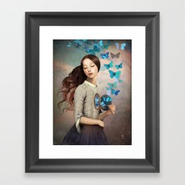 Set Your Heart Free Framed Art Print