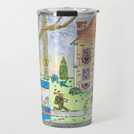 Welcome Home Soldier II Travel Mug