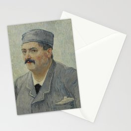Portrait of Etienne-Lucien Martin Stationery Cards