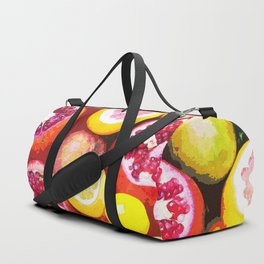 Lots of Kiwi and Oranges Duffle Bag