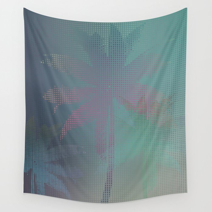 Palm Stories Wall Tapestry