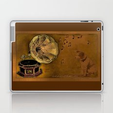 His Master's voice Laptop & iPad Skin