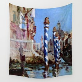 "Édouard Manet ""The Grand Canal in Venice"" 1874 Wall Tapestry"