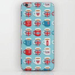 A Very British Brew iPhone Skin