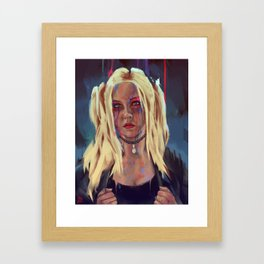 What are you drawing Ryan? // 244 Framed Art Print