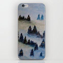 Trollen i snotackta skogen iPhone Skin