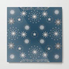 Star pattern13 Metal Print