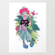 Flower Fae Art Print