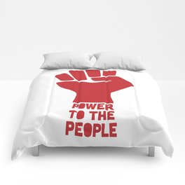 Power to the people Comforters