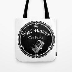 Alice In Wonderland Mad Hatter Tea Party Tote Bag