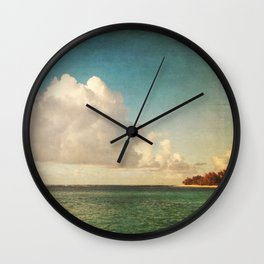 Summer Wind Wall Clock