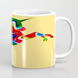Watercolor unicorn-Orange Coffee Mug