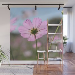 Thoughts of Spring Flowers Wall Mural