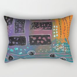 Down By The River Rectangular Pillow