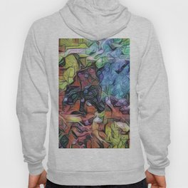 EXPLORATION - Abstract Painting Hoody